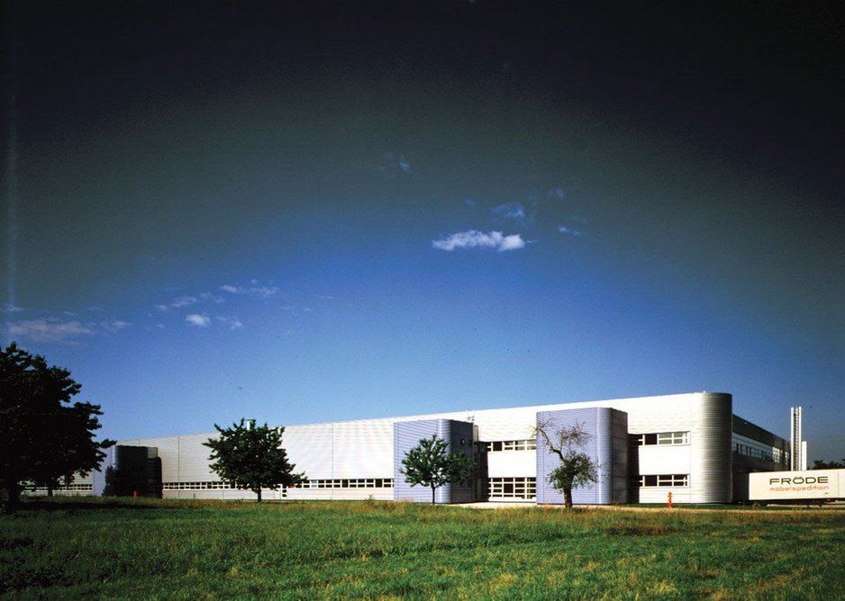 1981: Vitra Furniture Factory, Weil am Rhein, Germany.