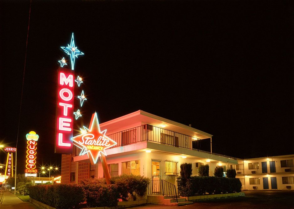 The Starlite Motel by Fred Sigman (1995), from the new book Motel Vegas.