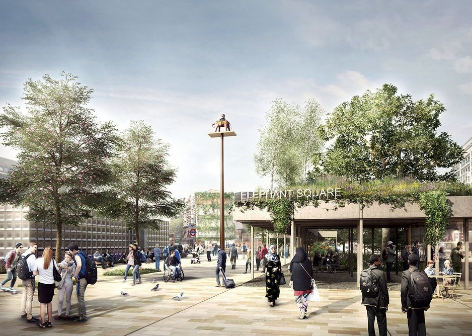 ... with Witherford Watson Mann's proposals for Elephant Square.