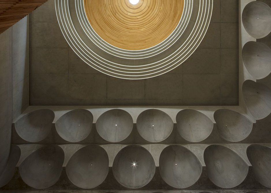 Punchbowl Mosque, designed by Angelo Candalepas and Associates for the Australian Islamic Mission in Sydney, Australia.
