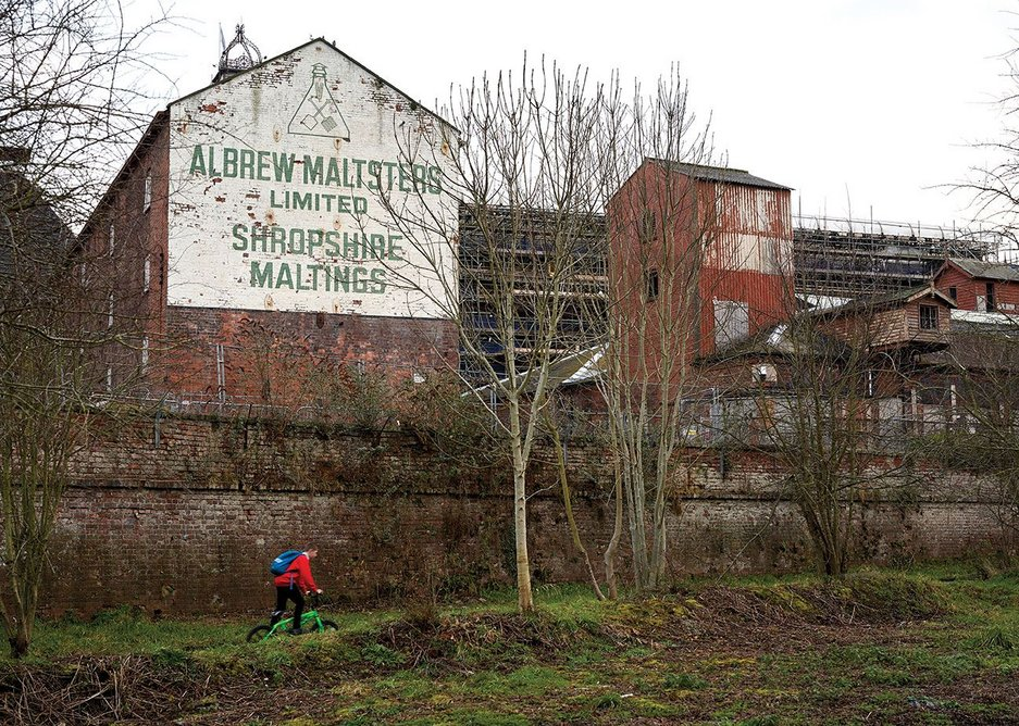 Historic England is bringing the main historic buildings back into use at Shrewsbury Flaxmill starting with the visitors' centre.