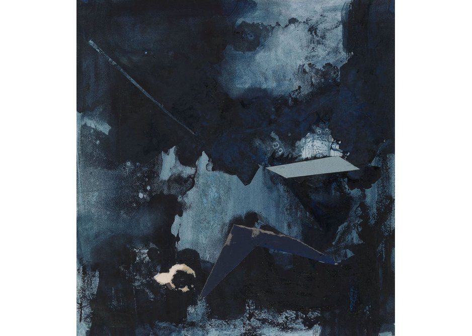 Eileen Gray, Untitled, c.1930. Gouache and collage on paper 35 × 32.7 cm.