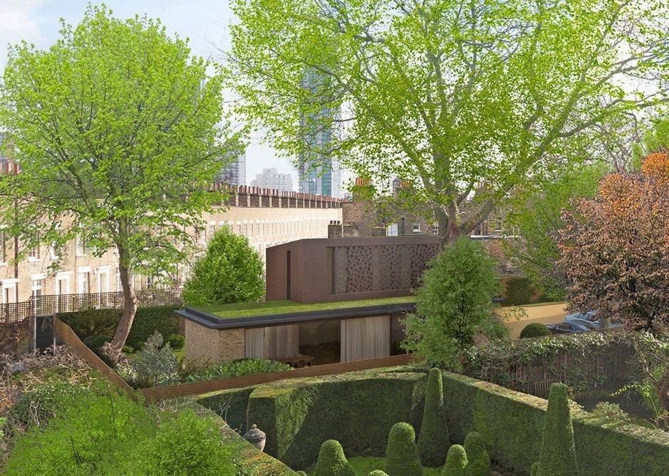 View to Garden House