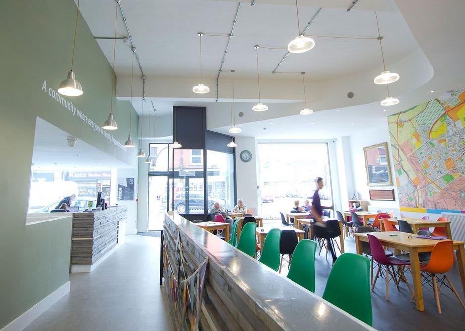 YMCA North Tyneside cafe