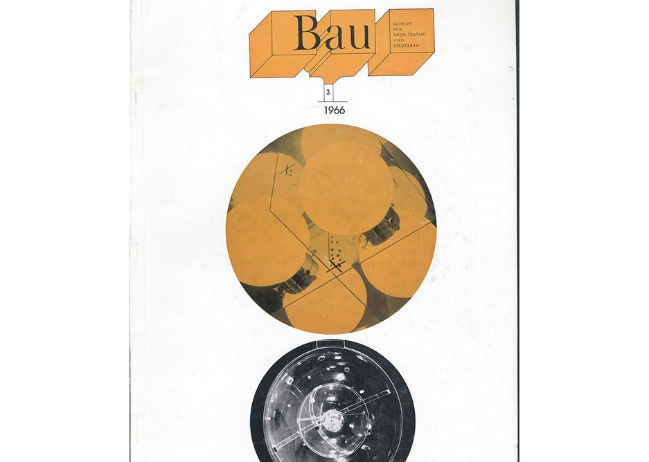 Bau before Hollein, a cover from 1966