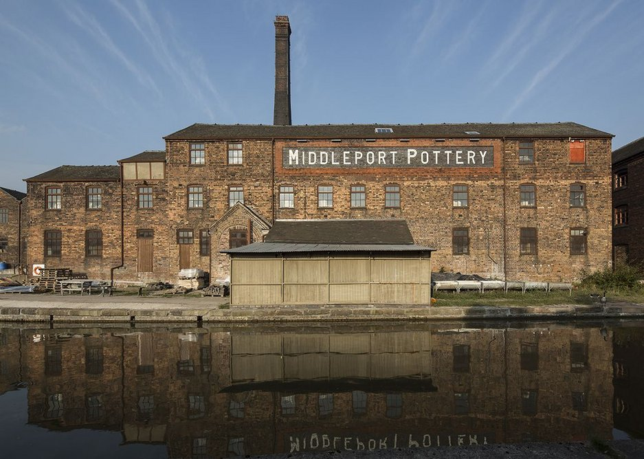 Middleport Pottery has been bought and restored by The Prince's Regeneration Trust.