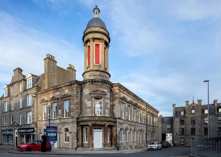 The Faithlie Centre was as much about restoration of the existing 19th century civic building as it was about a new one.