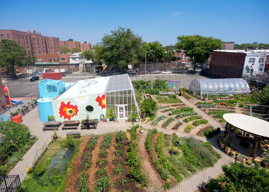 Edible Schoolyard in New York by WORKac-Architects.