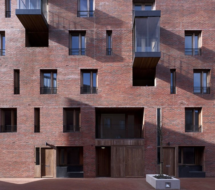 The Timberyard, Dublin, Ireland. Architect: O'Donnell & Tuomey, 2009.