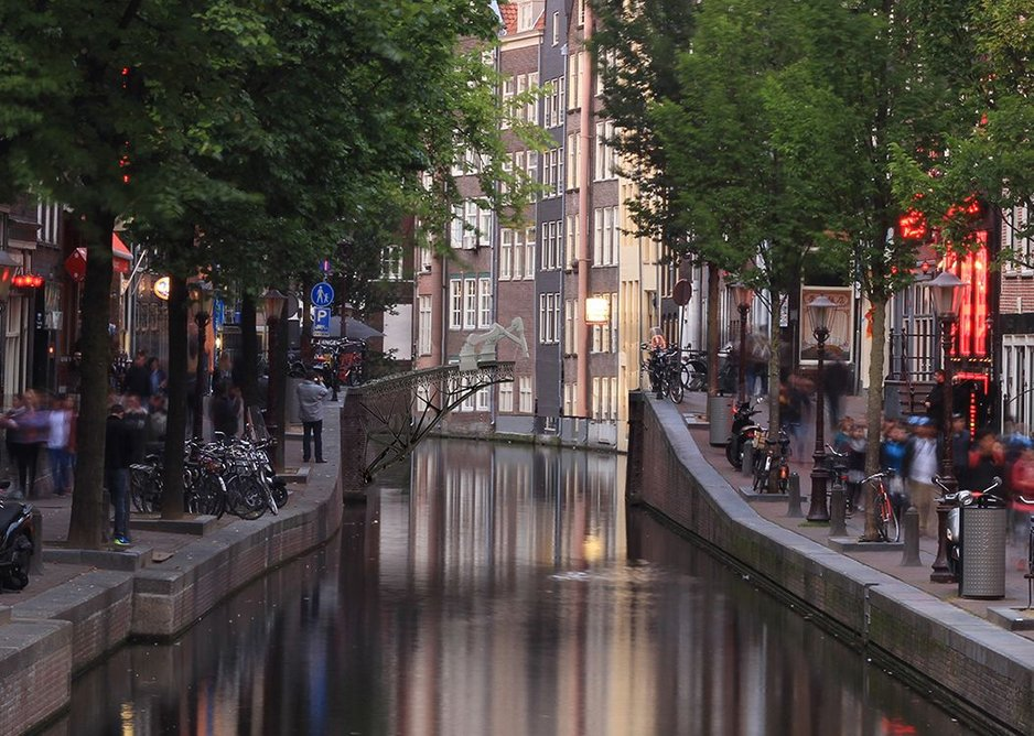 Visual of canal.