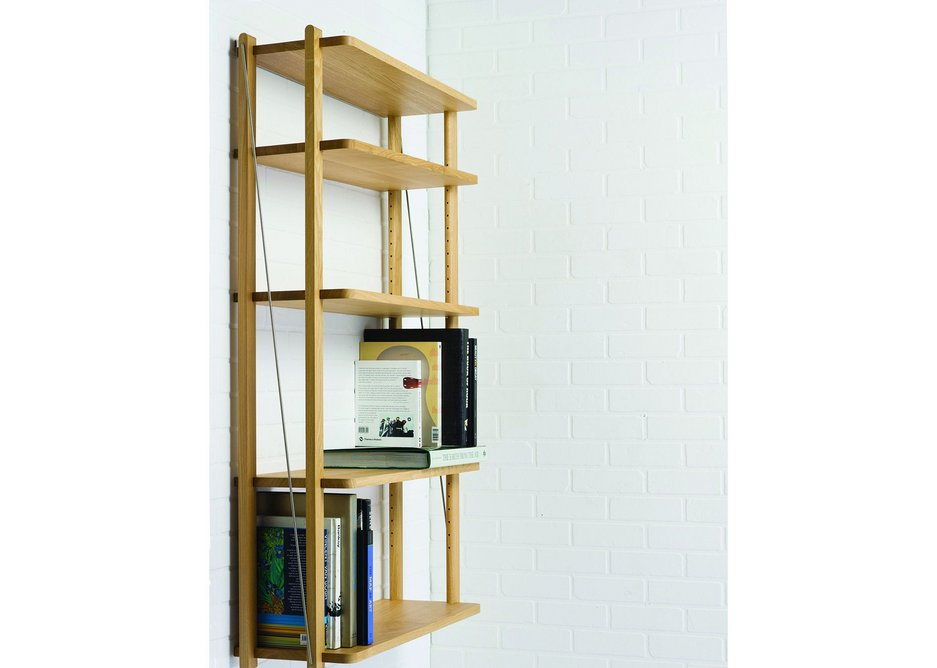 Shelving is another element of the collection.