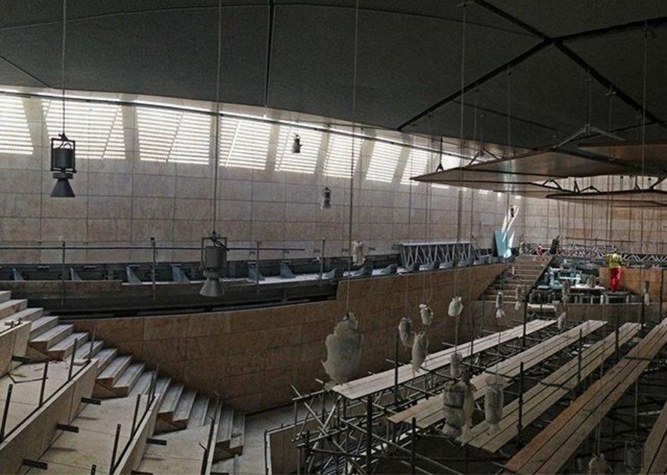 Kevin Diplock: Museum extension in Malta.