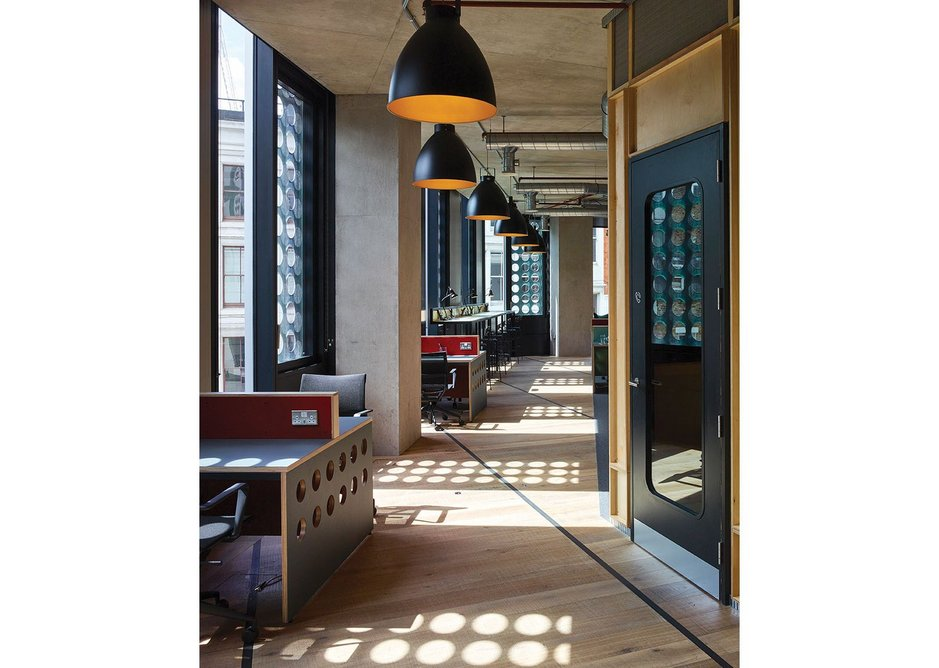 Inside the White Collar Factory – spec offices have changed.