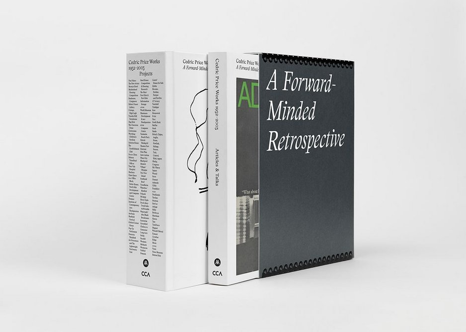 The Memory Bank installation coincides with the publication of Cedric Price Works 1952-2003: A Forward-minded Retrospective by Samantha Hardingham (co-published by the Architectural Association and the Canadian Centre for Architecture).