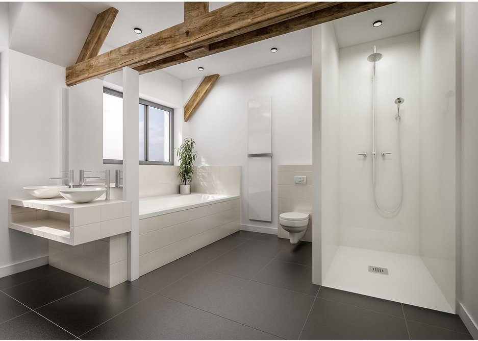 Marmox bathroom refurbishment finished.
