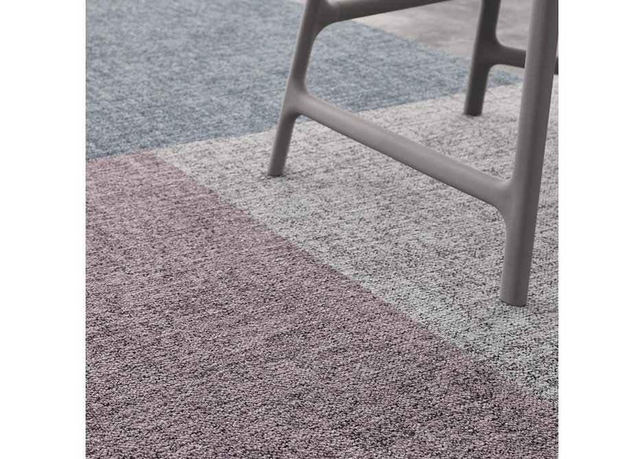 Desso Linon carpet tiles take inspiration from the timeless appeal and tactility of irregular woven fabrics.