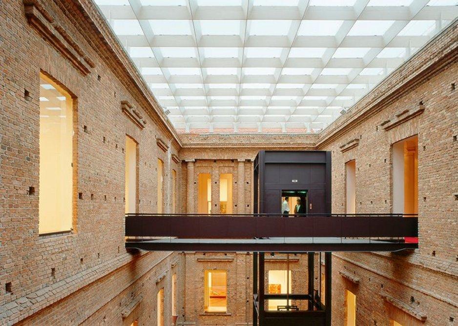 Renovation of Pinacoteca da Estado 1990s.