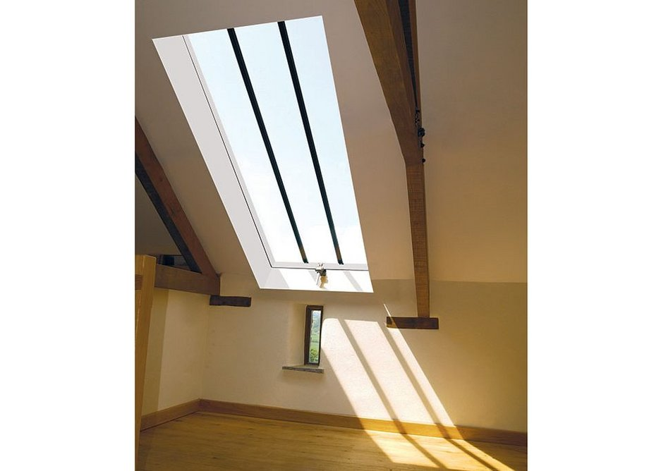 The Conservation Rooflight can maximise light and ventilation without sacrificing original features.