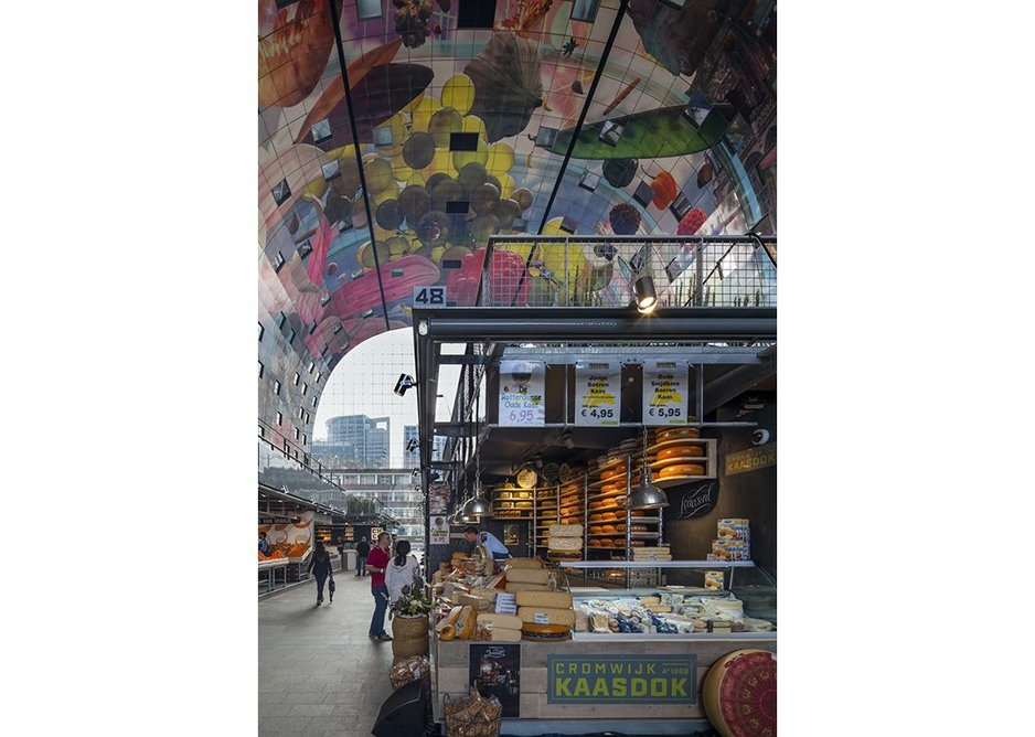 Cheesy in the best sense - the market stalls