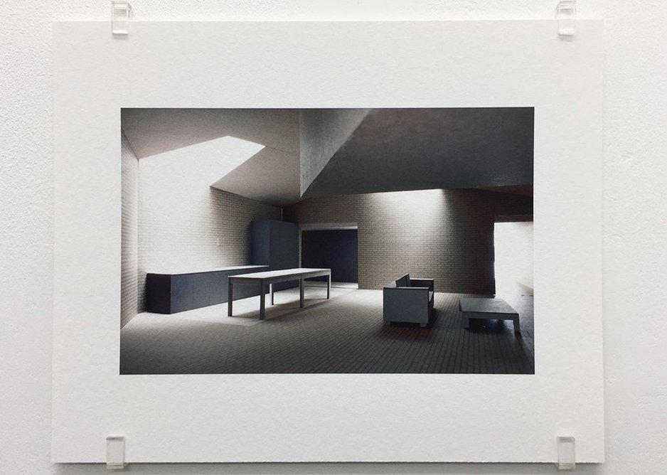 Caruso St John, Brick House, London (2001-2005), 2017, photograph, 16.8 x 21 cm, edition of 7.