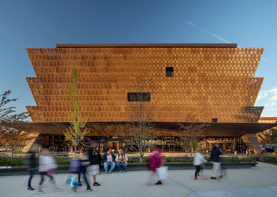 Smithsonian National Museum of African American Arts and Culture - Washington DC.