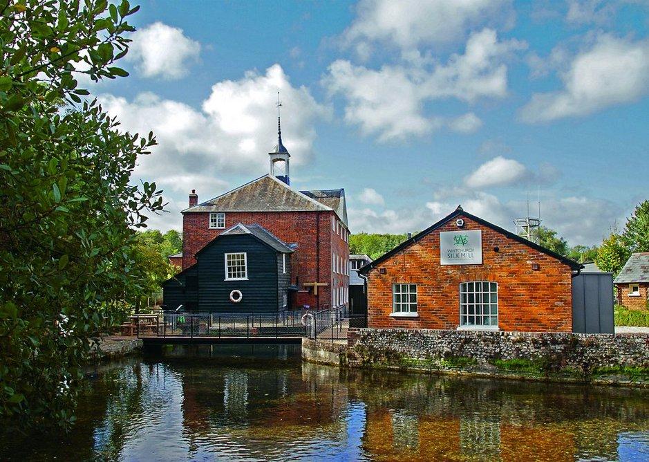 Whitchurch Silk Mill, Whitchurch.