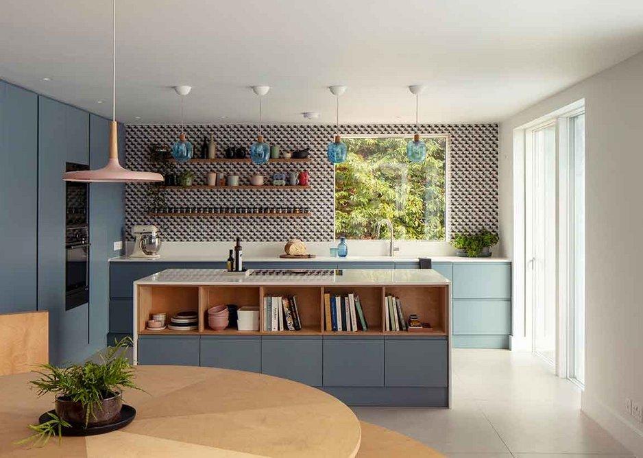 Geometries enjoyed in the family kitchen.