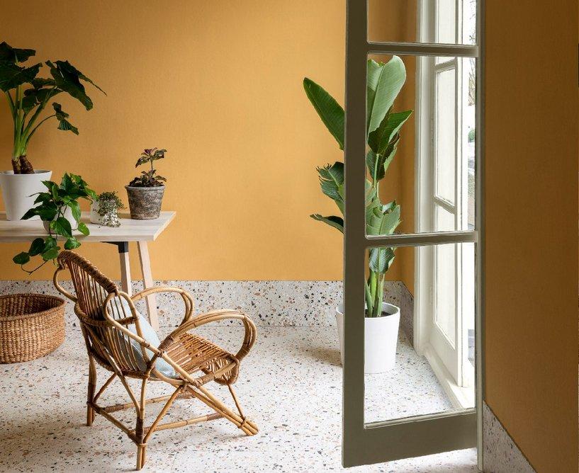 Parasol Pure Flat Emulsion: A homage to interior designer Nancy Lancaster's 'buttah yellah' rooms.