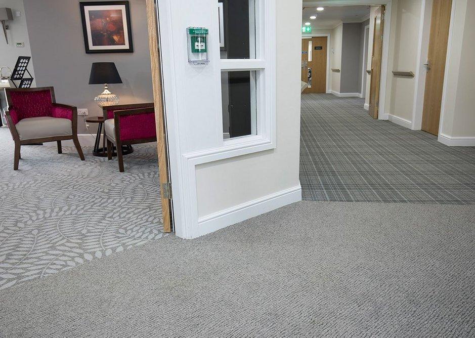 Danfloor's Evolution carpet collection includes Forest, Scape and Origin designs.