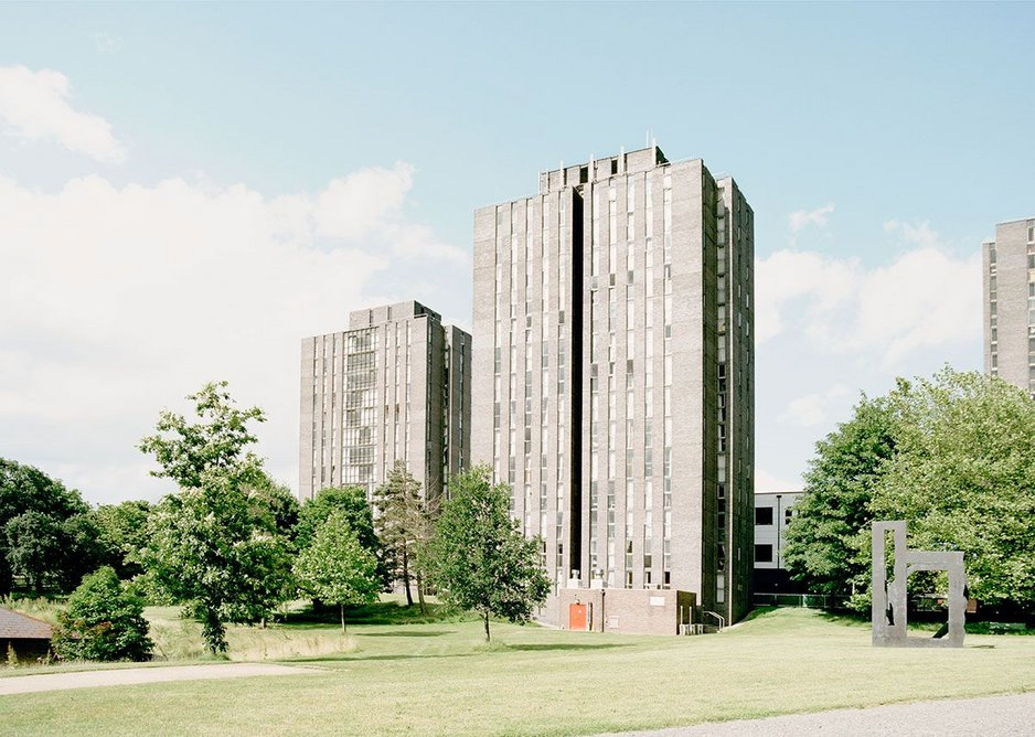University of Essex, Colchester, 2016, masterplanned by Architects' Co-Partnership.