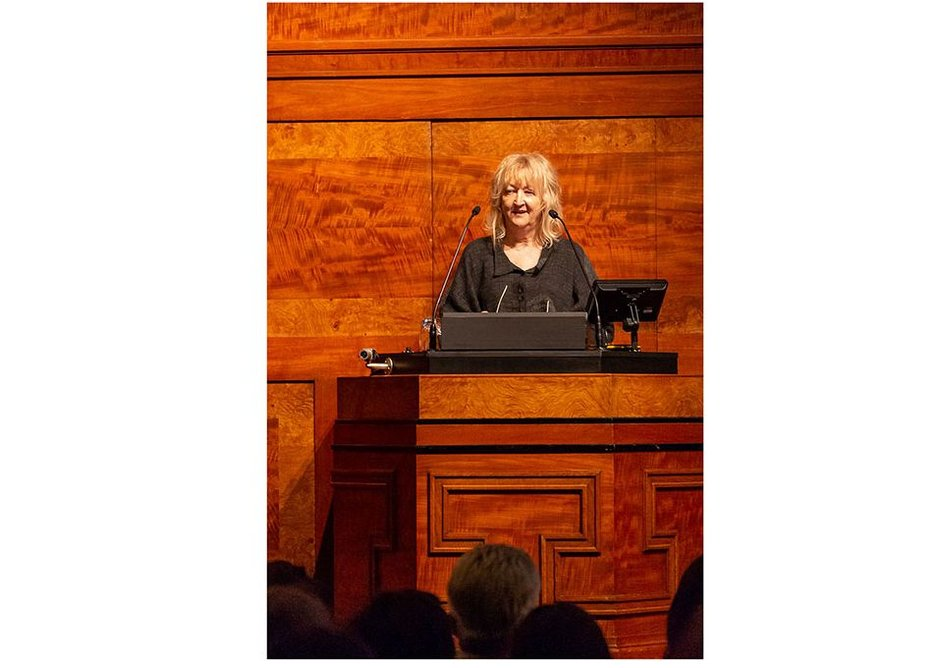 Farrell kicked off the intergenerational talk at the RIBA.