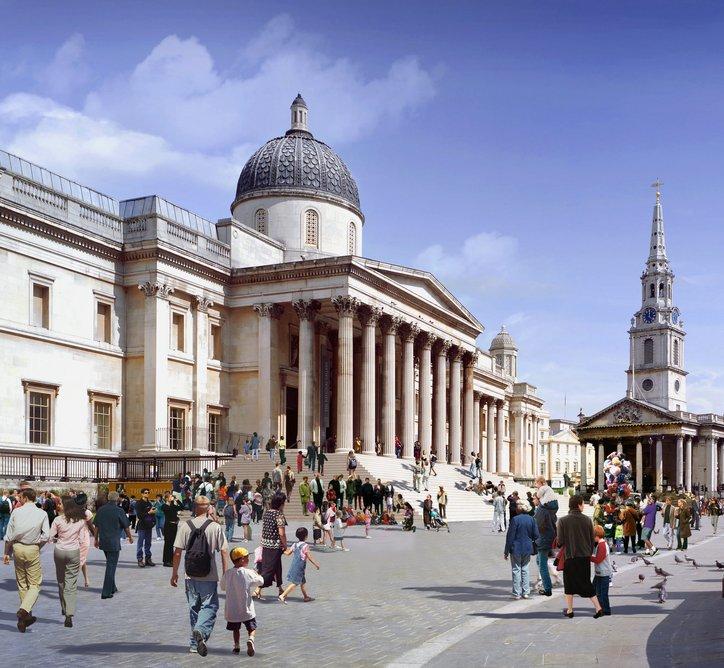 National Gallery, London, 2005, Jeremy Dixon and Edward Jones. Photo: Miller Hare