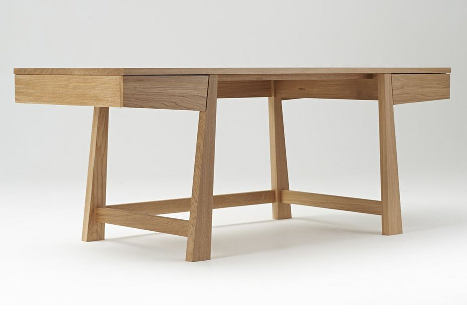 Oak furniture for Dickson Poon Centre by Makers' Eye.