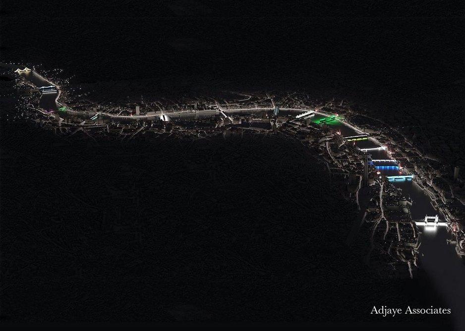 Adjaye & onedotzero – 'Blurring Boundaries' masterplan.