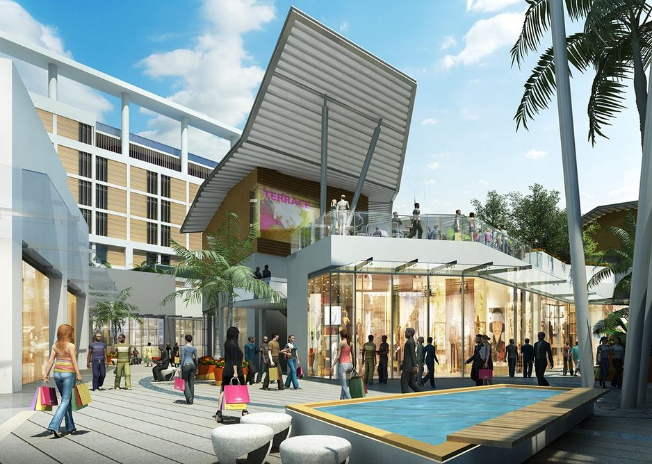 The Exchange, Accra, Ghana. HOK is working to make it a more sustainable project through EDGE certification.