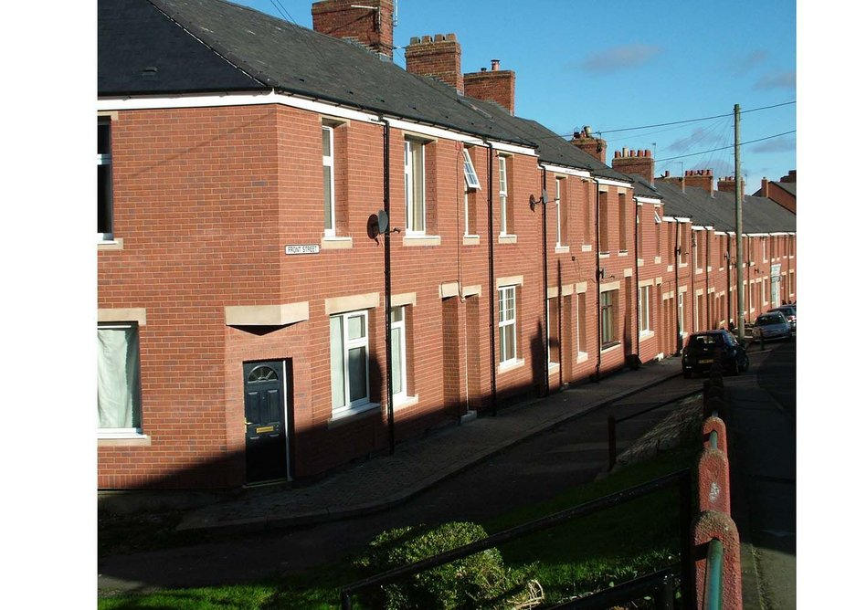 Craghead Regeneration – Winner Domestic Refurbishment: low rise (6 houses or more) category (Structherm and Westdale Services)