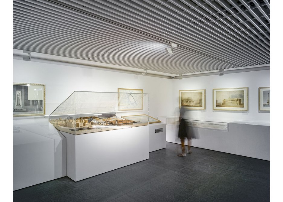 Models, drawings and watercolours are drawn from the RIBA Collections.