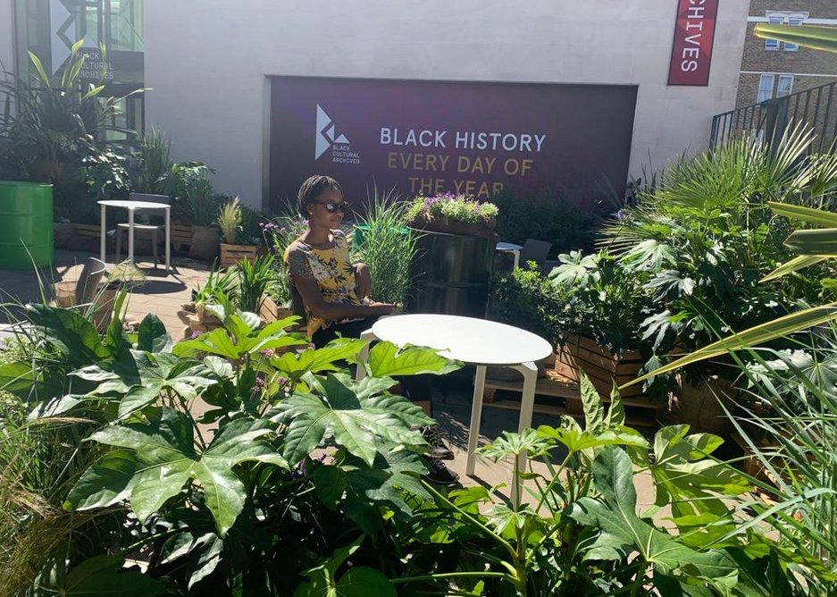 BCA Covid Garden and Wayfinding.