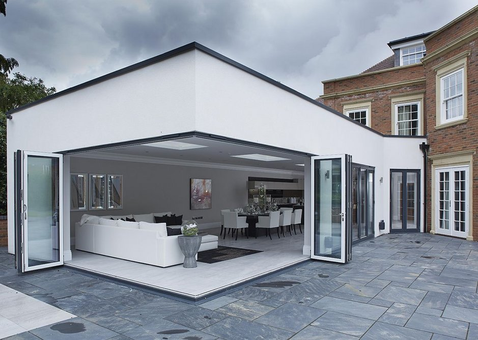 Exterior view of a project in Beaconsfield