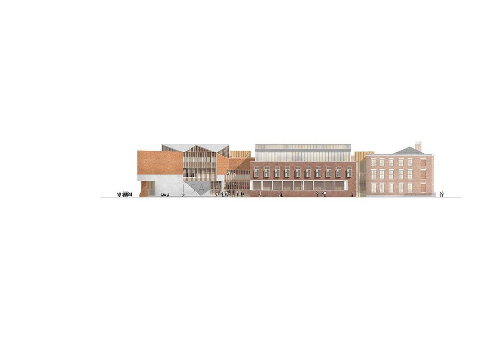 Elevation of O'Donnell + Tuomey's winning proposal.