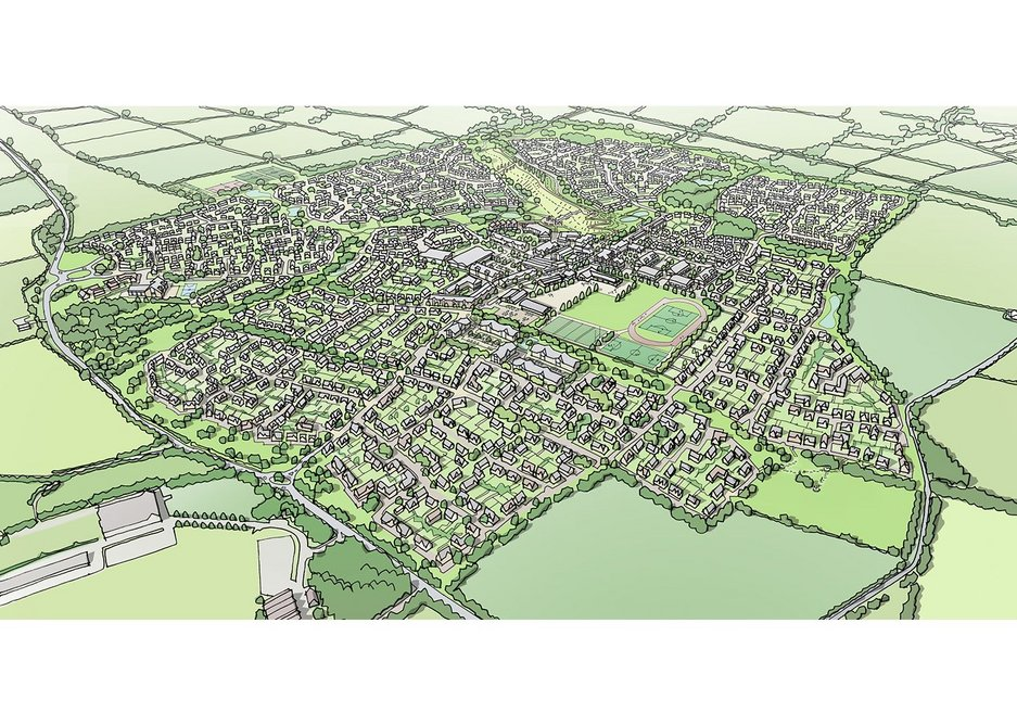 Howell is project lead for a garden city at Long Marston Airfield near Stratford upon Avon.