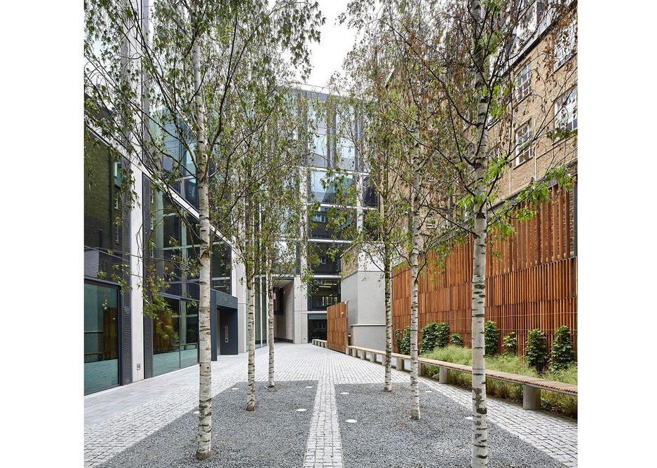 40 Chancery Lane offices London by Bennetts Associates