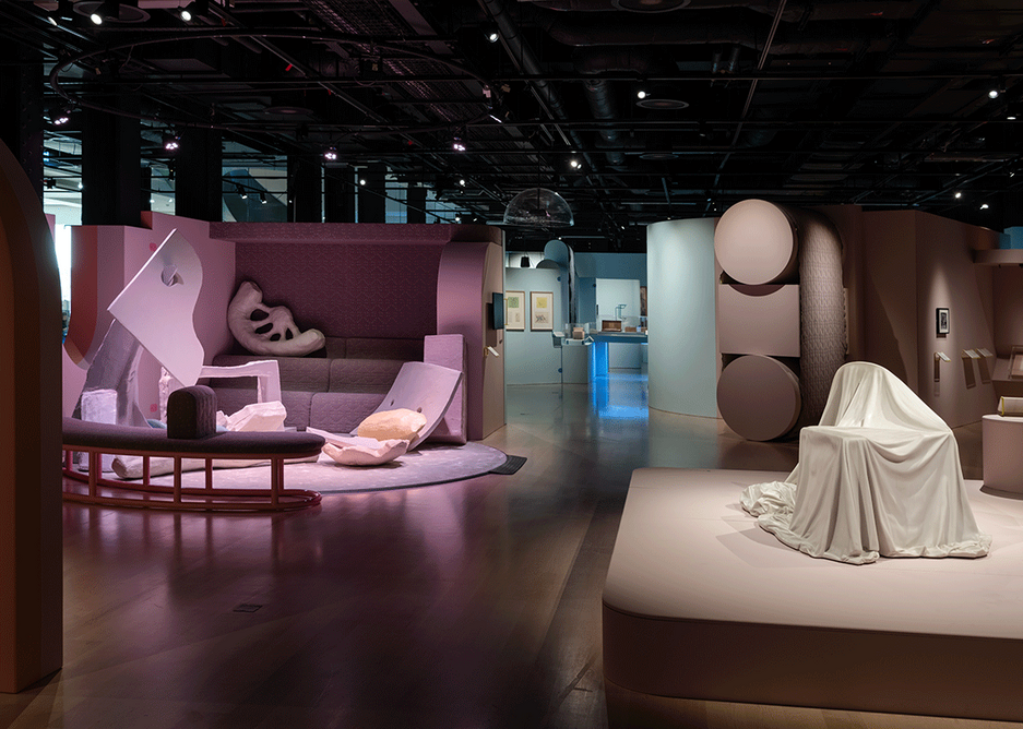 Installation shot of the Play Well exhibition at the Wellcome Collection.