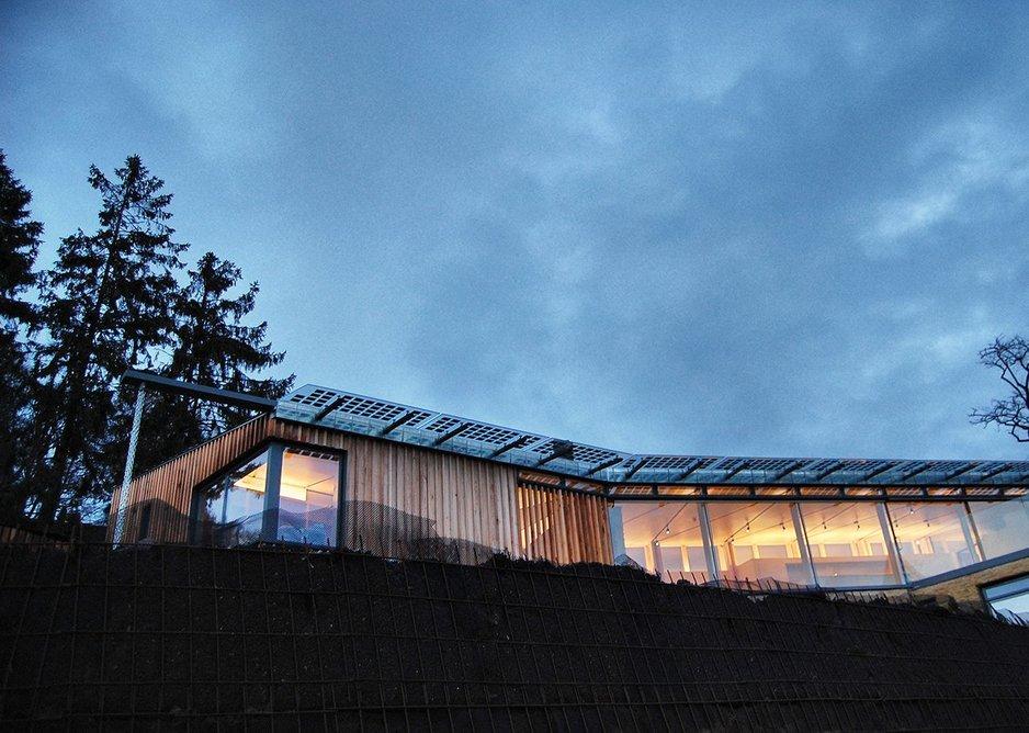 Limpley Stoke  Eco-house. Bath Hewitt Architects.
