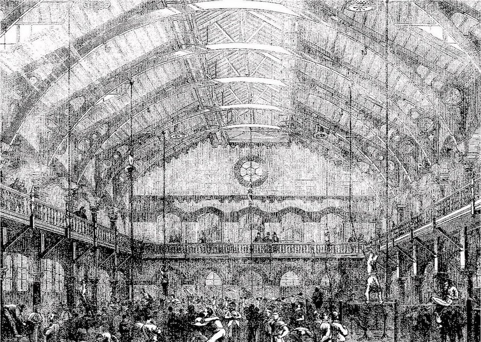 The German Gymnasium was built in the 1860s.