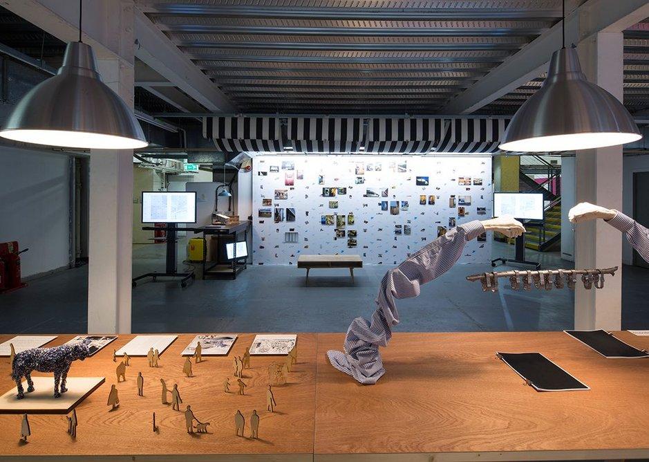 adapt-r exhibition installation.