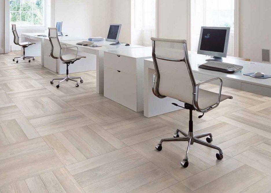 Arbortek Interior 10mm porcelain tiles - an ultra-realistic range that incorporates the natural irregularities of wood into its design.