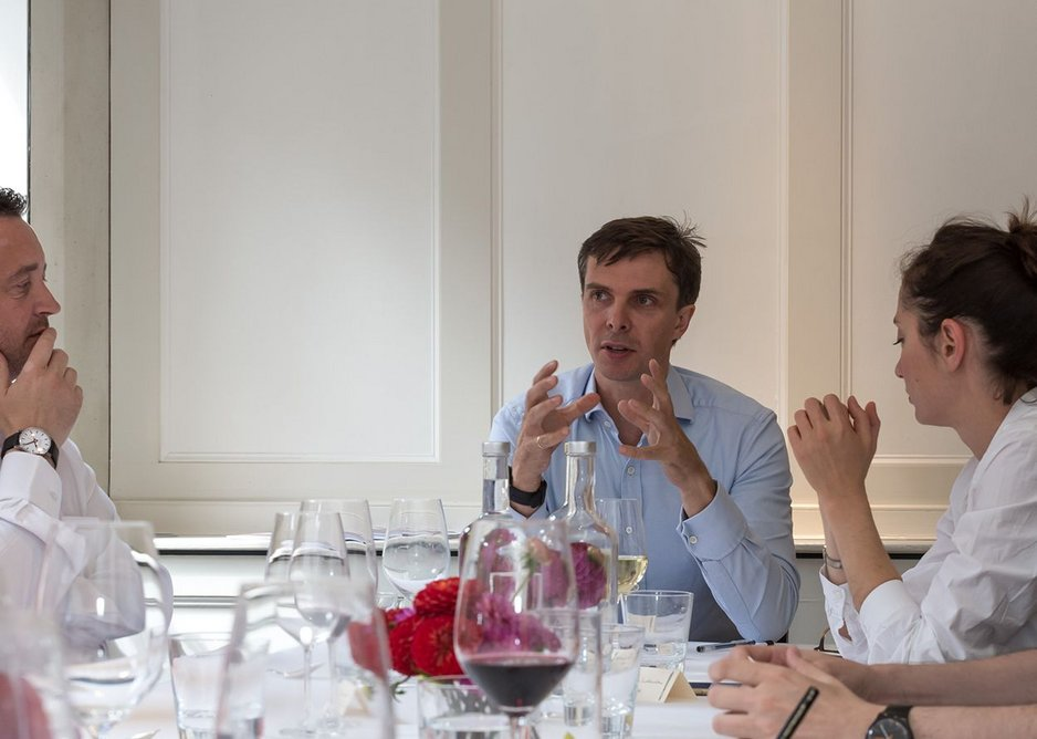 James Santer chaired the discussion.