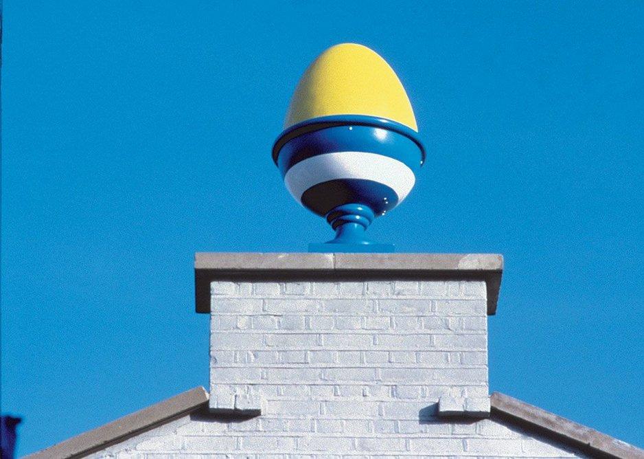 Terry Farrell, TVam building in Camden, London, 1982.