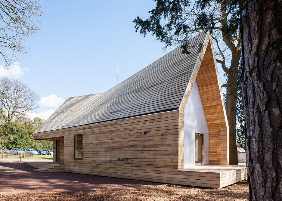 Wolfson Tree Management Centre, Tetbury by Invisible Studio.